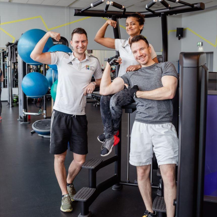 Equip de fitness