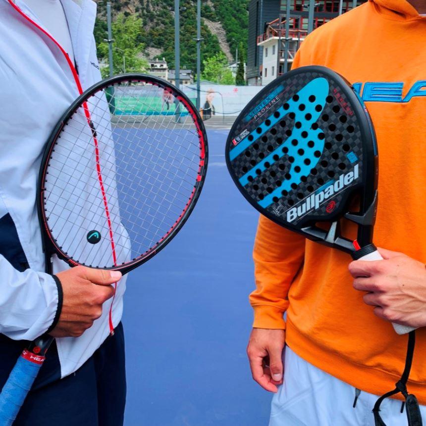 Equip de raqueta